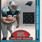 JONATHAN STEWART PANTHERS 2008 PLAYOFF ABSOLUTE MEMORABILIA ROOKIE JERSEY CARD
