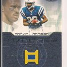 MARVIN HARRISON COLTS 2001 FLEER GAME USED GOAL POST COVER CARD