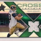 BRIAN LEONARD RAMS 2007 LEAF R&S CROSS TRAINING JERSEY CARD