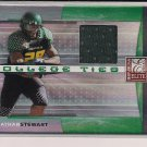 JONATHAN STEWART 2008 DONRUSS ELITE COLLEGE TIES JERSEY CARD #'D 045/150!