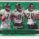 JACKSONVILLE JAGUARS 2007 UPPER DECK SUPER BOWL CHAMPS PREDICTORS CARD