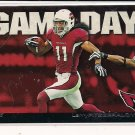 LARRY FITZGERALD CARDINALS 2011 TOPPS GAME DAY INSERT CARD