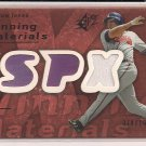 ANDRUW JONES BRAVES 2007 SPX WINNING MATERIALS BRONZE JERSEY CARD #'D 074/199!