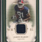 JAMES HARDY BILLS 2008 UPPER DECK CAPTURED ON CANVAS JERSEY CARD
