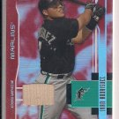 IVAN RODRIQUEZ MARLINS 2003 LEAF CERTIFIED MIRROR RED BAT CARD #'D 179/250!