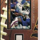 MICHAEL WESTBROOK 1995 PACIFIC ROOKIE CARD WITH JERSEY SWATCH