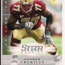 GOSDER CHERILUS LIONS 2008 UPPER DECK FIRST EDITIONS ROOKIE CARD