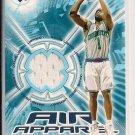 BARON DAVIS 2002-03 UPPER DECK AIR APPAREL JERSEY CARD