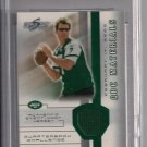 KEN O'BRIEN JETS 2002 SCORE QBC UNTOUCHED JERSEY CARD