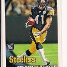 JONATHAN DWYER STEELERS 2010 TOPPS ROOKIE CARD