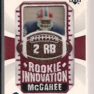 WILLIS MCGAHEE BILLS 2003 UD NFL PATCH COLLECTION CARD