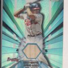 ANDRUW JONES BRAVES 2002 TOPPS FINEST GAME-USED BAT CARD