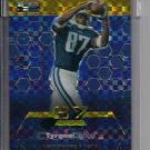 TYRONE CALICO TITANS 2003 TOPPS FINEST UNCIRCULATED GOLD X-FRACTOR ROOKIE CARD