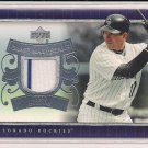 TODD HELTON 2007 UPPER DECK GAME MATERIALS JERSEY CARD
