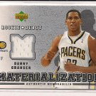 DANNY GRANGER PACERS 2006-07 UPPER DECK MATERIALIZATION ROOKIE JERSEY