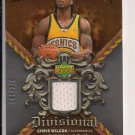 CHRIS WILCOX SONICS 2007-08 UPPER DECK DIVISIONAL ARTIFACTS JERSEY