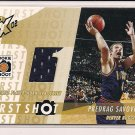 PREDRAG SAVOVIC NUGGETS 2002-03 TOPPS XPECTATIONS FIRST SHOT JERSEY