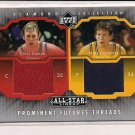 CHRIS KAMAN - MIKE DUNLEAVEY UD PROMINENT FUTURES DUAL JERSEY