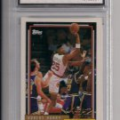 ROBERT HORRY ROCKETS 1992 TOPPS ROOKIE CARD GRADED FGS 10!