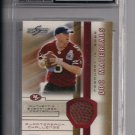 JEFF GARCIA 49'ERS 2002 SCORE QBC UNTOUCHED BALL CARD