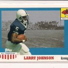 LARRY JOHNSON CHIEFS 2003 TOPPS ALL AMERICAN ROOKIE CARD