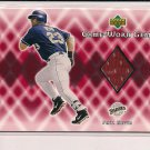 PHIL NEVIN PADRES 2002 UPPER DECK GAME-WORN GEMS JERSEY