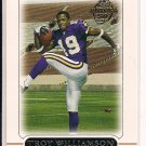 TROY WILLIAMSON VIKINGS 2005 TOPPS ROOKIE CARD
