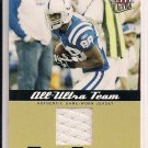 MARVIN HARRISON COLTS 2005 FLEER ULTRA TEAM JERSEY CARD