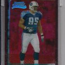 RIEN LONG TITANS 2003 TOPPS CHROME UNCIRCULATED RED REFRACTOR RC