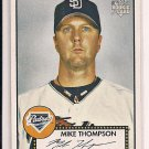 MIKE THOMPSON PADRES 2006 TOPPS 52 ROOKIE CARD
