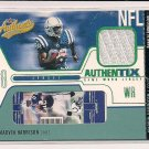 MARVIN HARRISON COLTS 2004 FLEER AUTHENTIX JERSEY CARD
