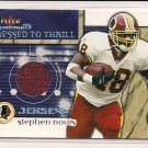 STEPHEN DAVIS REDSKINS 2002 FLEER MAXIMUM JERSEY