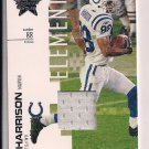 MARVIN HARRISON COLTS 2007 LEAF R&S ELEMENTS JERSEY