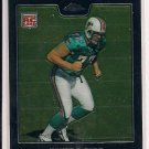 JAKE LONG DOLPHINS 2008 TOPPS CHROME RC