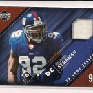 MICHAEL STRAHAN GIANTS 2005 UPPER DECK GAME JERSEY