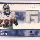 AMANI TOOMER GIANTS 2003 UPPER DECK GAME JERSEY