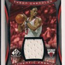 TYSON CHANDLER BULLS 2003-04 SP GAME USED JERSEY