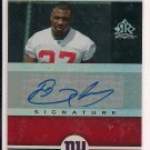 BRANDON JACOBS 2005 UD REFLECTIONS RC AUTO