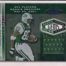 SANTANA MOSS 2001 PLAYOFF HONORS ROOKIE GEMS JERSEY