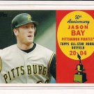 JASON BAY PIRATES 2008 TOPPS 50TH ANNIVERSERY