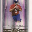 2007 DONRUSS THREADS TYLER THIGPEN ROOKIE CARD
