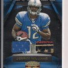 DERRICK WILLIAMS LIONS 2009 GRIDIRON GEAR BALL/JERSEY #'d 028/100!