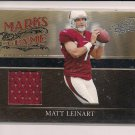 MATT LEINART CARDINALS 2006 ABSOLUTE MARKS OF FAME JERSEY #'d 180/200!