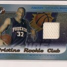 AMARE STOUDEMIRE SUNS 2002-03 PRISTINE ROOKIE CLUB JERSEY