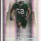 DAVID HARRIS JETS 2007 DONRUSS THREADS RC #'D 027/100!