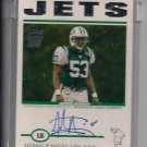 JONATHAN VILMA JETS 2004 TOPPS UNCIRCULATED RC AUTO