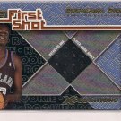 DESAGANA DIOP CAVALIERS 2001-02 TOPPS XPECTATIONS JERSEY