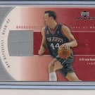 KEITH VAN HORN NETS 2002-03 UD MVP WARM-UP CARD