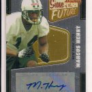 MARCUS HENRY JETS 2008 BOWMAN SIGNS OF THE FUTURE AUTO