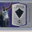 CHRIS WEBBER KINGS 2002-03 UD SWEET SWATCHES JERSEY